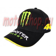Кепка monster energy 46 черная