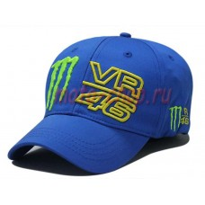 Кепка monster energy Valentino Rossi 46 синяя