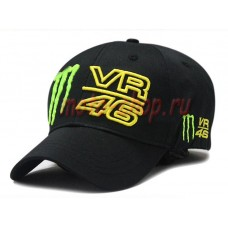 Кепка monster energy Valentino Rossi 46 черная