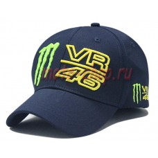 Кепка monster energy Valentino Rossi 46 темно-синяя